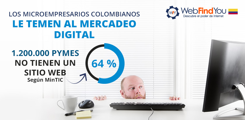 Microempresarios Colombianos le Temen al Mercadeo Digital