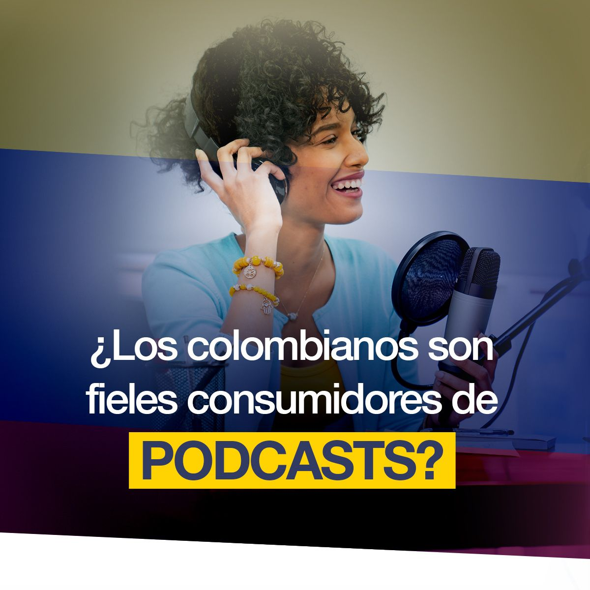 ¿Los colombianos son fieles consumidores de podcasts?